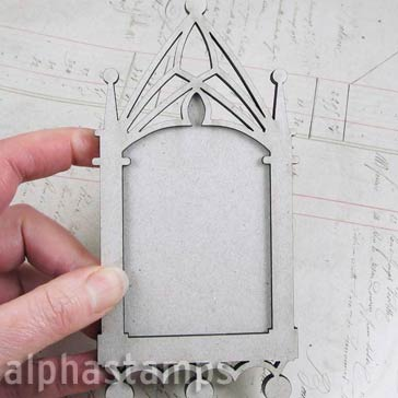 Cathedral Frame w Solid Back
