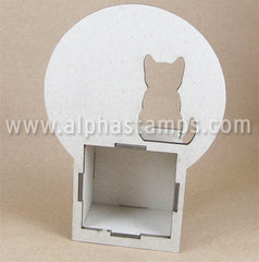 Cat in Moon Mini Shrine