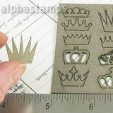 Little Crowns Chipboard Shape Set