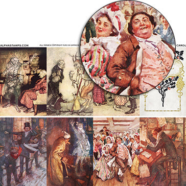 A Christmas Carol Collage Sheet
