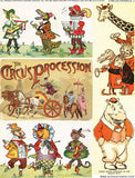 Circus Animals #1 Collage Sheet