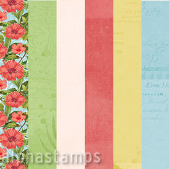 Coastal Summer Brights 12x12 Paper Set