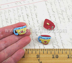 Coffee Cups Buttons*