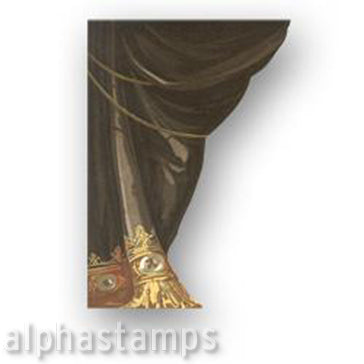 Side Curtain with Fringe - Brown Download