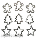 Cookie Cutters Embellishments Set