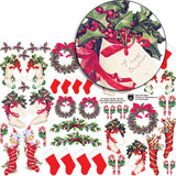 Deck The Halls Collage Sheet