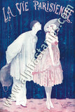 Art Deco Carnival Collage Sheet
