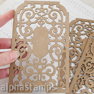 6 Inch Tall Decorative Screen