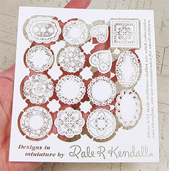 Dollhouse Laser-Cut Doilies Set