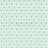 Retro Doodled Turquoise Paper Set