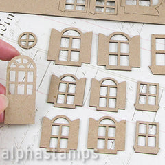 Mini House Doors & Windows