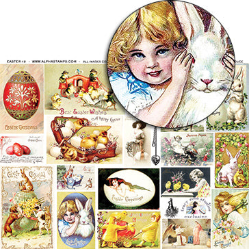 Easter #2 Collage Sheet