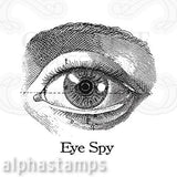 Eye Spy Cling Stamp