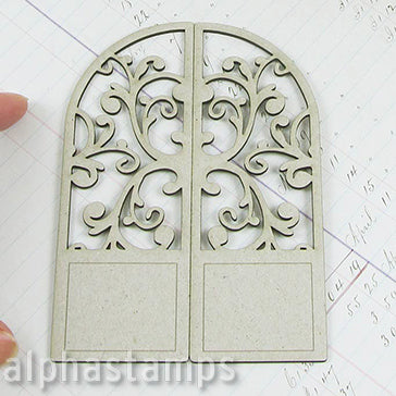 Arched Flourish Door
