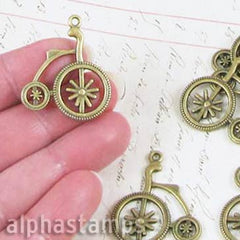 Victorian Bicycle Charms