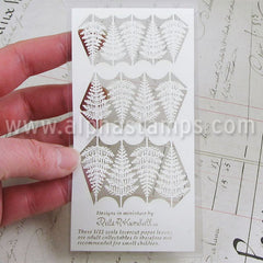 Dollhouse Laser-Cut Fern Leaves - OUT OF STOCK
