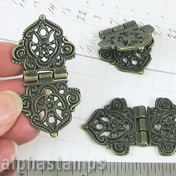 Fancy Filigree Hinge - OUT OF STOCK