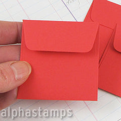 Tiny Square Red Envelopes*