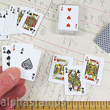 1 Inch Playing Card Deck