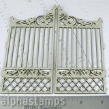 Chipboard Garden Gate Set
