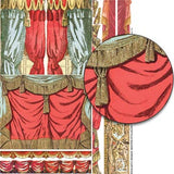 Gatefold Square Shrine Curtains Collage Sheet