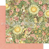 Garden Goddess Scrapbook Paper Set