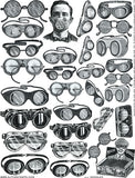 Goggles Collage Sheet