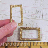 Miniature Gold Mirror Frame