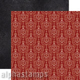 Grand Bazaar Folklore Scrapbook Paper