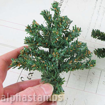 4 Inch Green Christmas Tree