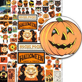 Halloween Market Signs & Props Collage Sheet
