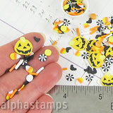 Polymer Clay Halloween Slice Mix