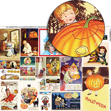 Halloween #1 Collage Sheet