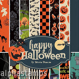 Happy Halloween 6x6 Paper Pad - OUT OF STOCK