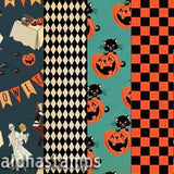 Happy Halloween Custom 12x12 Paper Set