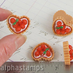 Strawberry Pie or Tart with Heart-Shaped Crust