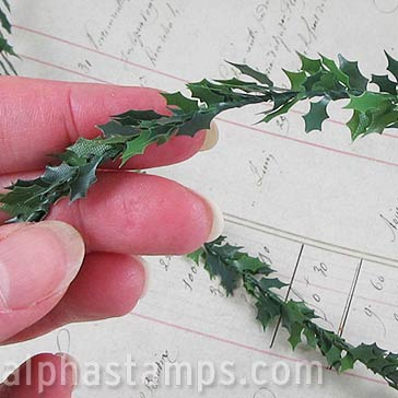 Mini Holly Leaf Garland