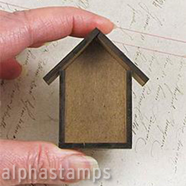 Tiny Little Shadowbox Houses 3
