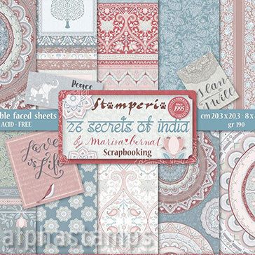 26 Secrets of India 8x8 Paper Pad*
