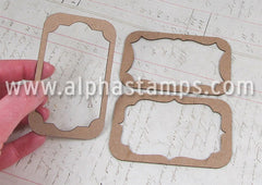 Altoids Tin Insert Frames - Scalloped
