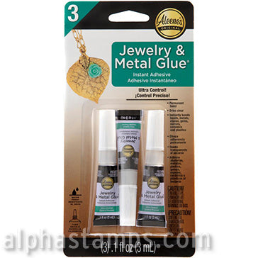Aleene's Jewelry & Metal Glue - 3 Pack