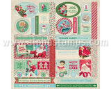 Jingle Die-Cut Cardstock Elements*