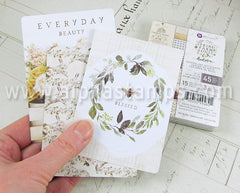 Spring Farmhouse 3x4 Journaling Cards*
