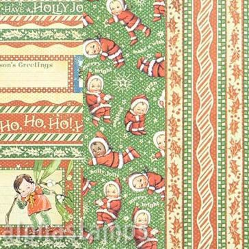 Christmas Magic Kewpies 12x12 Paper Set*