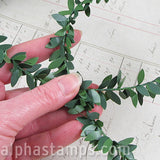 Larger Green Leaf Garland*