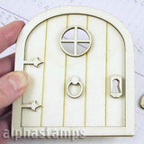 Wood Fairy Door Set