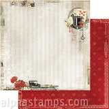 Love Story Scrapbook Paper - Twenty One