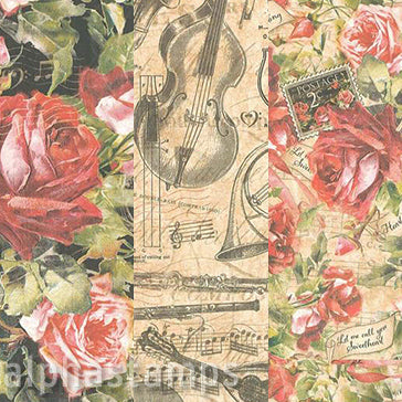 Love Notes Valentines 12x12 Paper Set*