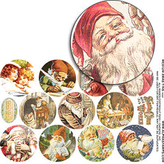 Medium Xmas Tins - Half Sheet