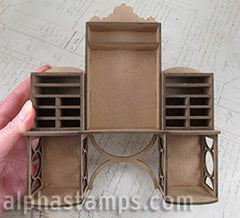 Millinery Cabinet 1:12 Scale